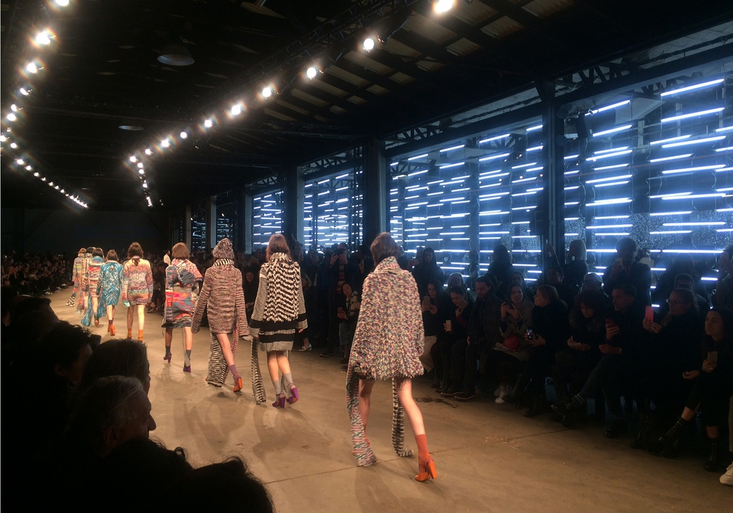 MISSONI - FASHION SHOW WOMEN'S COLLECTION FALL/WINTER 2016/2017
