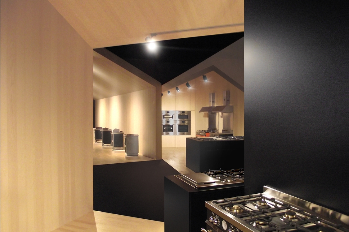 New Showroom design in the plant of Bertazzoni  cooking manufactured