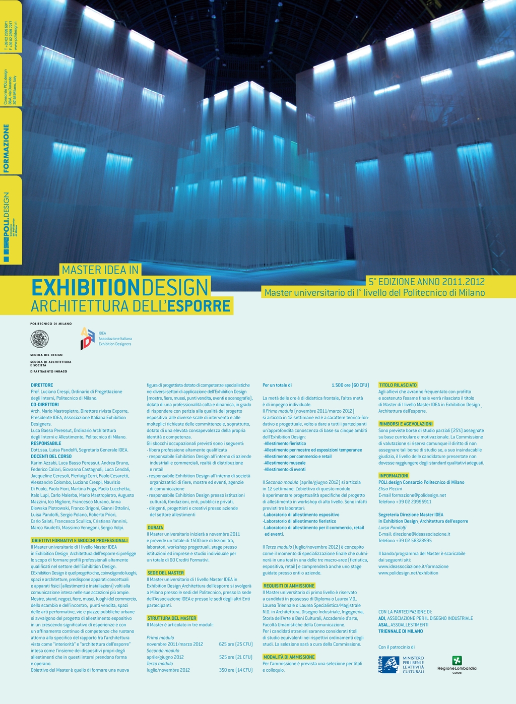 MASTER IDEA IN EXHIBITION DESIGN 11/12