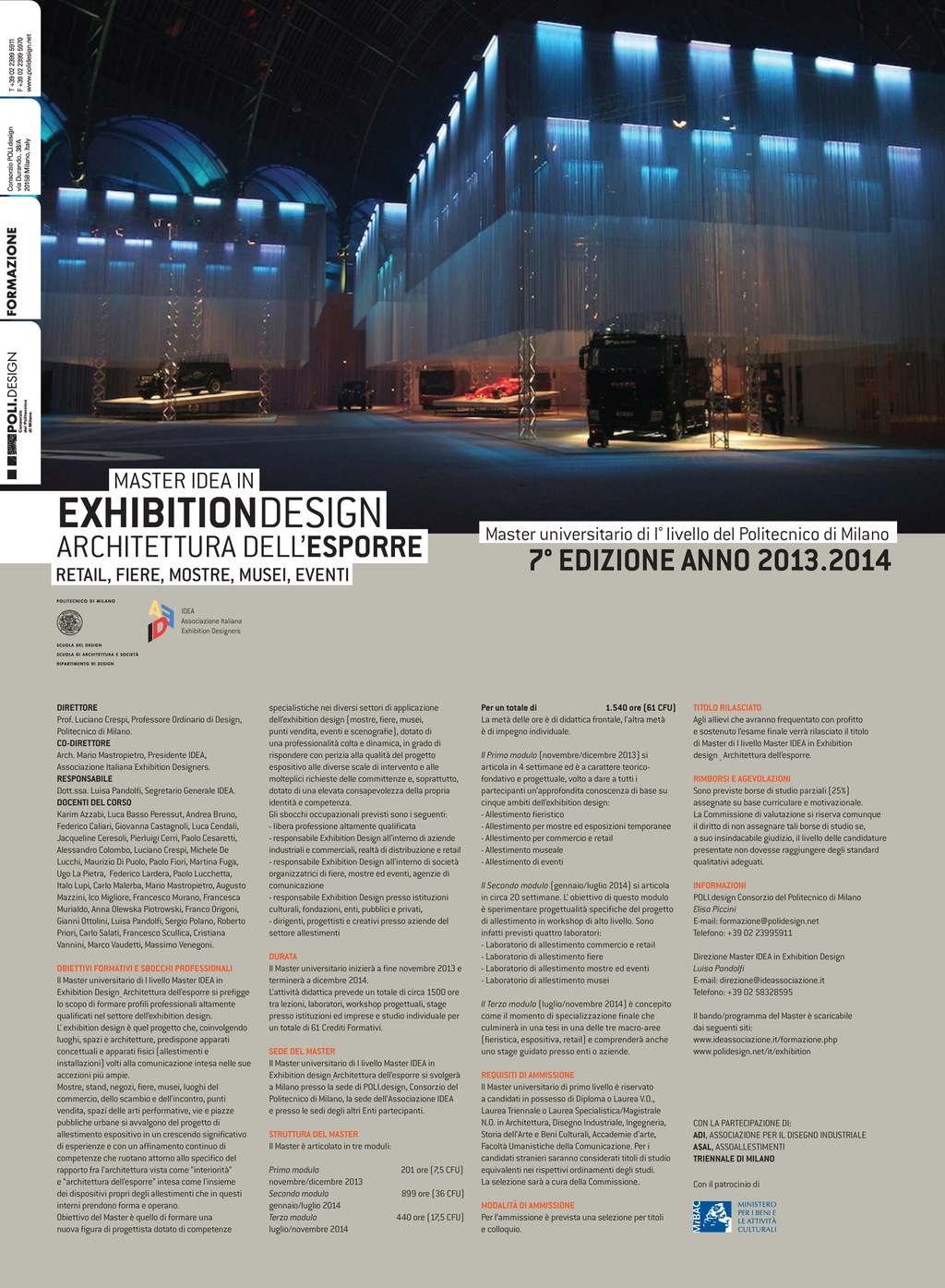 MASTER IDEA IN EXHIBITION DESIGN 13/14