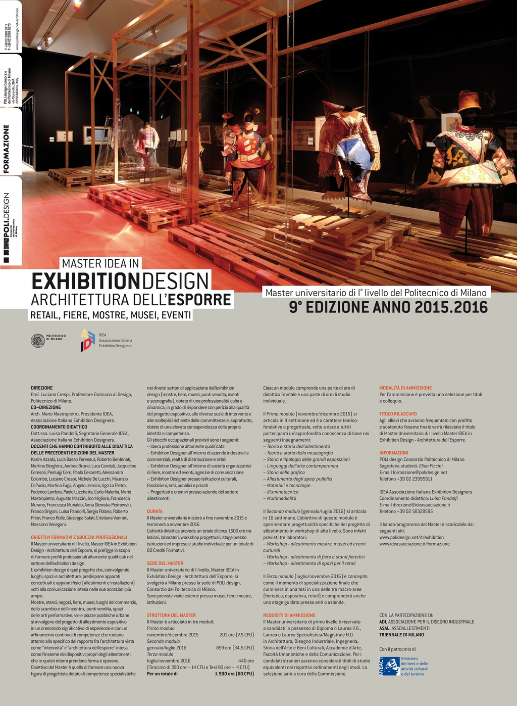 MASTER IDEA IN EXHIBITION DESIGN 15/16